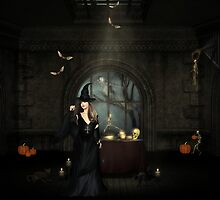 Happy Halloween My Dear   by Lisa  Weber