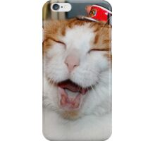 Captain Scarlett gained Weight! iPhone Case/Skin