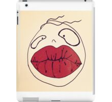 RED LIPS iPad Case/Skin