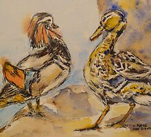 ducks amore by christine purtle