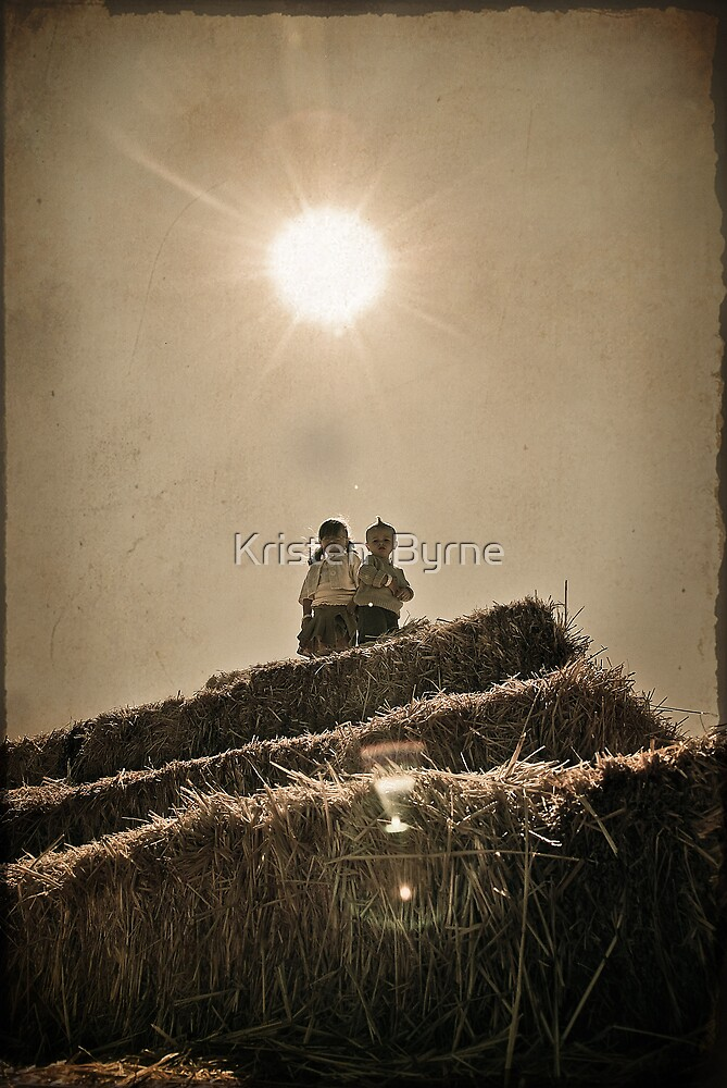 high a TOP the haystack by Kristen  Byrne