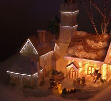 A piece from Dickens Village by Sean Jansen