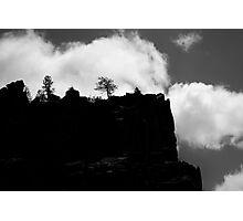 Battleship Rock Photographic Print