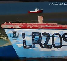 Painted Ships Upon A Painted Ocean #1 by Paul Evans