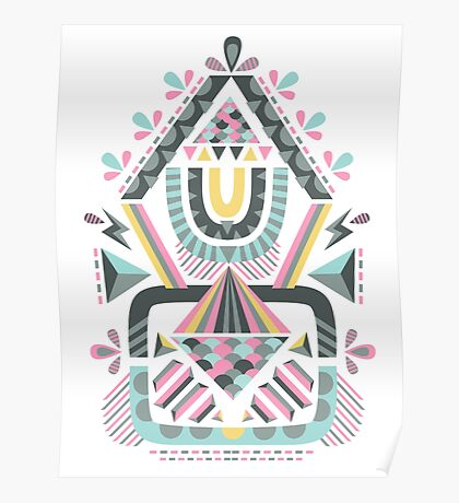 ethnic abstraction Poster