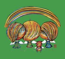 A Rainbow of Angels TShirt Kids Clothes