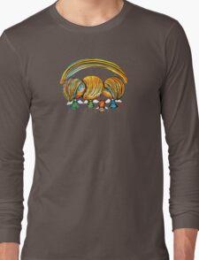 A Rainbow of Angels TShirt Long Sleeve T-Shirt