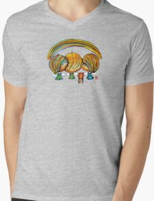 A Rainbow of Angels TShirt Mens V-Neck T-Shirt