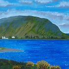Killary Harbour near Leenane by Samuel Ruth