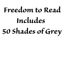 Freedom to Read 50 Shades by CoppersMama