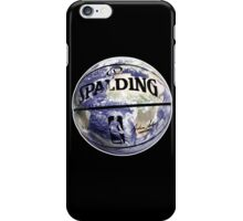 The World Of BasketBall, NBA Inspired Earth Baller,  iPhone Case/Skin