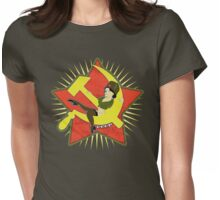 CCCP Pinup Womens Fitted T-Shirt