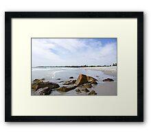 A Trip to the Coast Framed Print