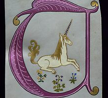 'U' is for Unicorn by louisegreen