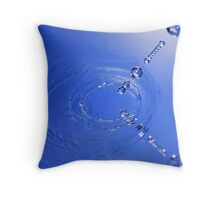 Reflected Succession Throw Pillow