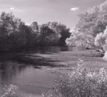 Infrared River Sticker