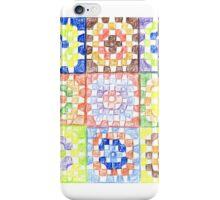 Granny Squares iPhone Case/Skin