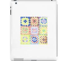 Granny Squares iPad Case/Skin