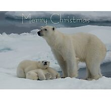 Hey Mum! - Christmas Card Photographic Print