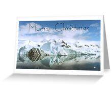 Antarctic Reflections - Christmas Card Greeting Card