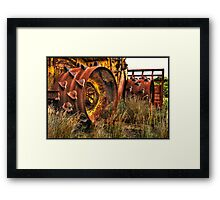 Another green world... Framed Print