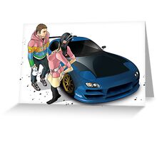 FD RX-7 Greeting Card