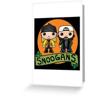 Snoogans! Greeting Card