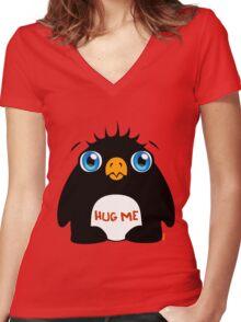 Hug Me Women's Fitted V-Neck T-Shirt