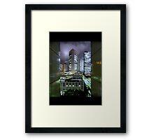 Shades of Bladerunner: Shinjuku, Tokyo Framed Print