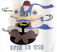 Spin to Win - Garen Poster