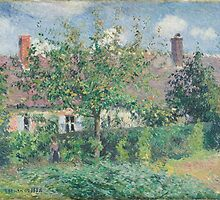 Camille Pissarro - Peasant House at Eragny by Adam Asar