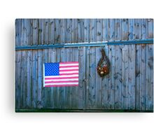 American Rural Patriot Canvas Print