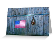 American Rural Patriot Greeting Card