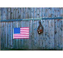 American Rural Patriot Photographic Print