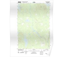 Maine USGS Historical Map Hay Lake 20110913 TM Poster