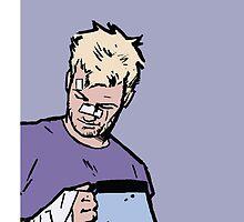 """Hawkeye - """"Good Boy."""" by kikikent"""
