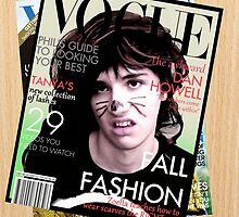 Vogue Model - Dan Howell by Dominique Demetz