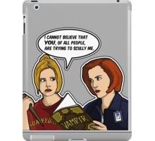Scully Me. iPad Case/Skin
