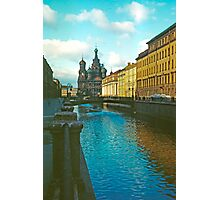 Cathedral of the Holy Blood, St Petersburg, Russia Photographic Print
