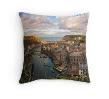 Staithes Throw Pillow