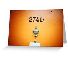 274D Greeting Card