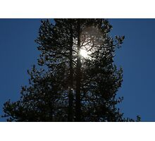 """And God said, """"Let there be Light"""".  Genesis 1:3 Photographic Print"""