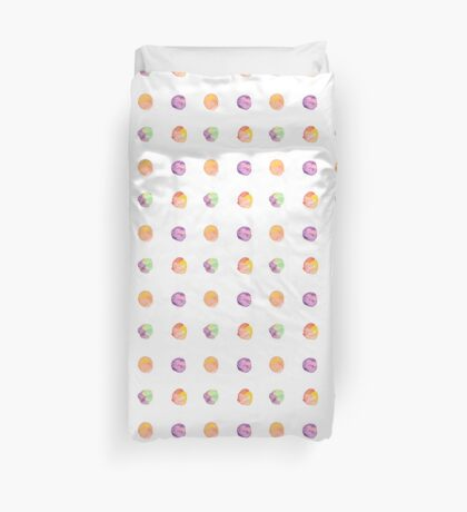 Abstract vector watercolor textured hand painted background Duvet Cover