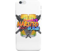 Narutowarrior iPhone Case/Skin
