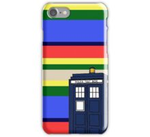 Tom Bakers TARDIS iPhone Case/Skin