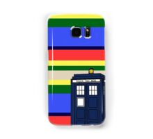 Tom Bakers TARDIS Samsung Galaxy Case/Skin