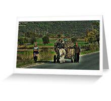 Gypsy Cart - Macedonia Greeting Card