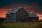 Spooky Old Barn by Allen Lucas