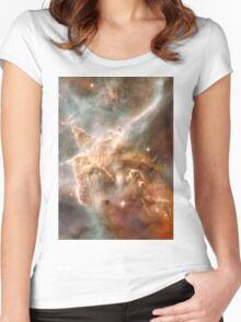 Pearl Galaxy Women's Fitted Scoop T-Shirt