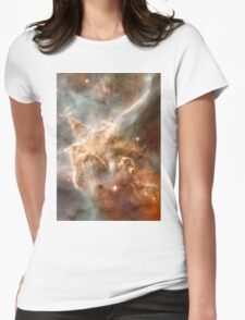 Pearl Galaxy Womens Fitted T-Shirt